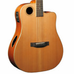 ECDG-3N Acoustic/Electric Dreadnought Guitar