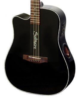 Boulder Creek Guitar, ECR1B-L Solitaire, Lefty