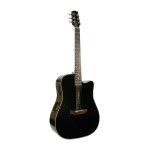 Boulder Creek Guitar, ECR1-B Solitaire, Black
