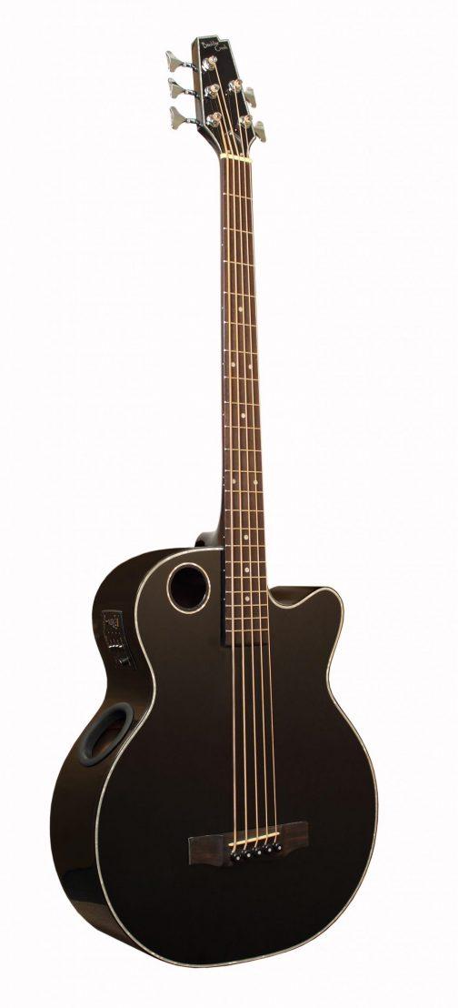 Boulder Creek Guitar, Acoustic Bass Spruce Top Black 5-string EBR1-B5
