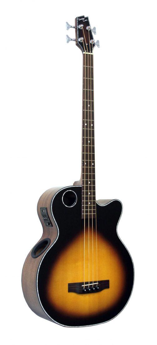 Boulder Creek Guitar, Acoustic Bass Spruce Top Tobacco Burst EBR1-TB4