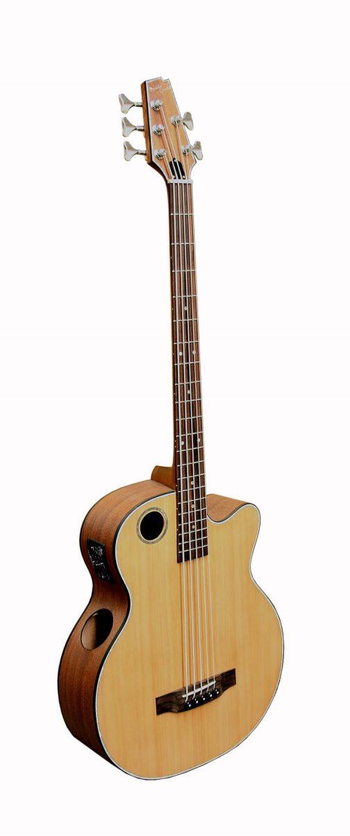 Boulder Creek Guitar, Acoustic Bass Cedar Top EBR3-N5