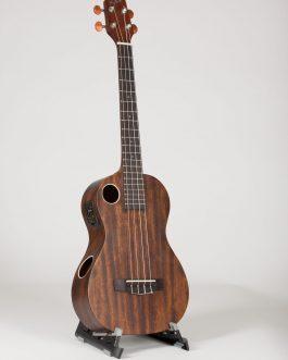 Riptide Ukulele, Baritone, Mahogany Acoustic-Electric  EUB-5NS