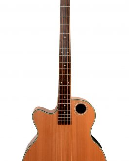 Boulder Creek Guitar, EBR3-N5L Acoustic-Electric Bass Guitar, Lefty