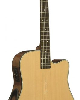 Boulder Creek Guitar, Solitaire Cutaway Spruce ECR1-N
