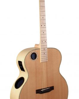 Boulder Creek Guitar, Jumbo Acoustic Spruce/Flame Maple ERJ7-N