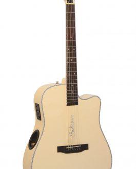Boulder Creek Guitar, ECR4-BC Solitaire, Butter Cream