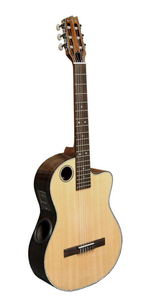 Boulder Creek Guitar, Classical Nylon Spruce Top ECL-2