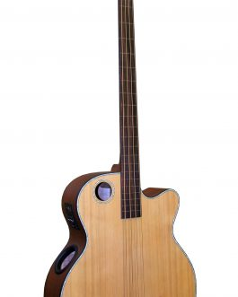 Boulder Creek Guitar, EBR3-N4 Acoustic Bass Guitar