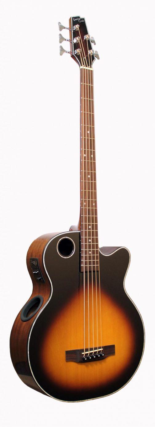 Boulder Creek Guitar, Acoustic Bass Spruce Top Tobacco Burst EBR1-TB5