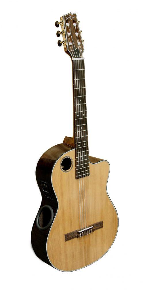 Boulder Creek Guitar, Classical Nylon Cedar Top ECL-4