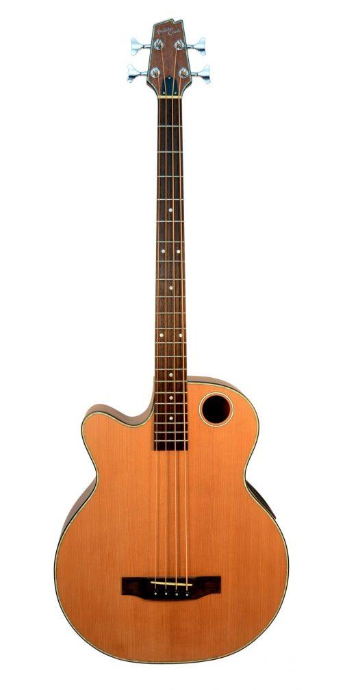 Boulder Creek Guitar, Acoustic Bass Cedar Top Lefty EBR3-N4LH