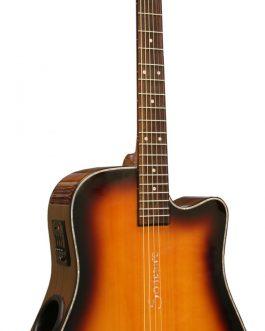 Boulder Creek Guitar, ECR2-C Solitaire, Cabo Sunset