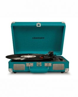 Cruiser Deluxe Turntable with Bluetooth – Teal CR8005D-TL