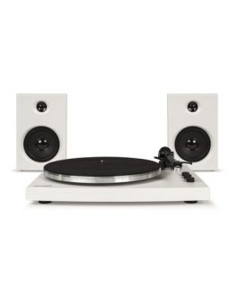 T150 Turntable System – White T150A-WH